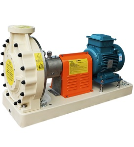 EMAUX SWP Series Corrosion Resistant FRP Pump